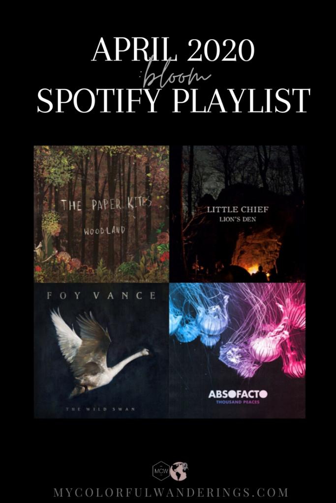 April 2020 Spotify Playlist