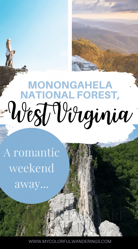 Hiking Monongahela National Forest is basically the most back-woods hiking experience you never knew you needed. Spend a weekend unplugged and relaxing in the mountains of West Virginia! Hike West Virginia, Go snowboarding at Snowshoe ski and snowboard resorts, and enjoy the gorgeous mountain scenery! West Virginia is more than just a tiny mountain state! #couplestravel #romanticweekends #appalachiatrail #couplestraveldestinations #USARoadtrips #USAdestinations Fall Road Trips #fallroadtrips